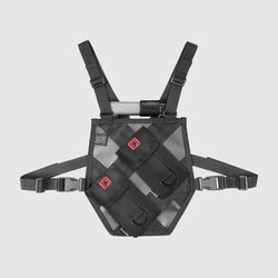 Pro Series Chest Harness - Final Sale in Black - small view.