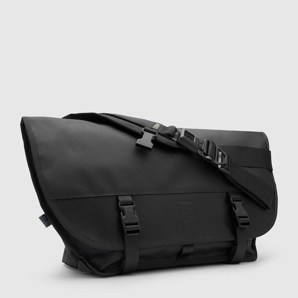 Citizen Messenger Bag in Blckchrm - medium view.