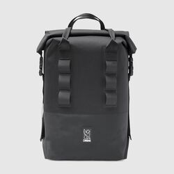 Saddle Bag Rolltop 20 Pannier - Final Sale in Black - small view.