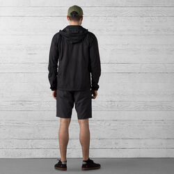 Natoma Short in Black / Brick - wide-hi-res view.