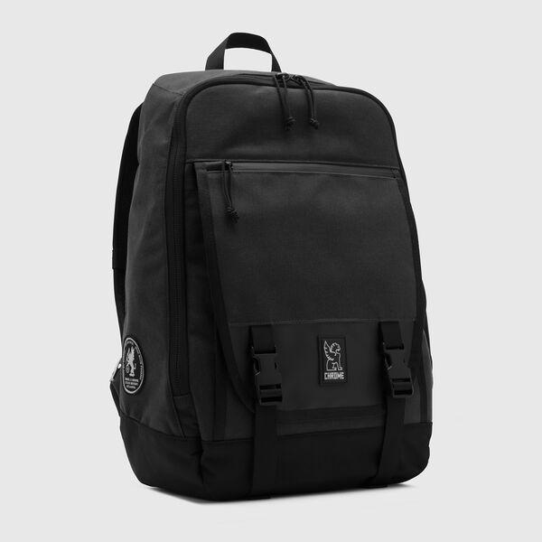 Cardiel Fortnight Backpack in Black - medium view.