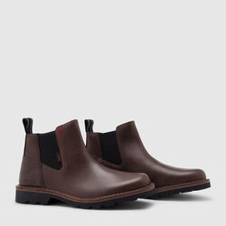 212 Chelsea Boot in Amber - small view.
