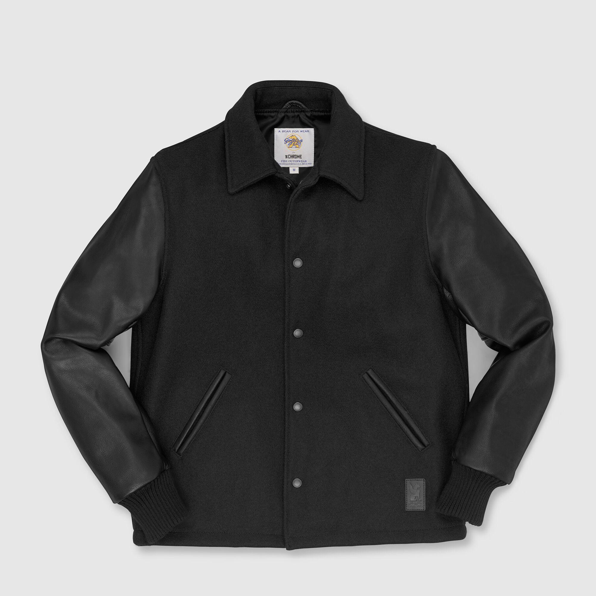 Fulton Baseball Jacket - Form Meets Function - Long Sleeve