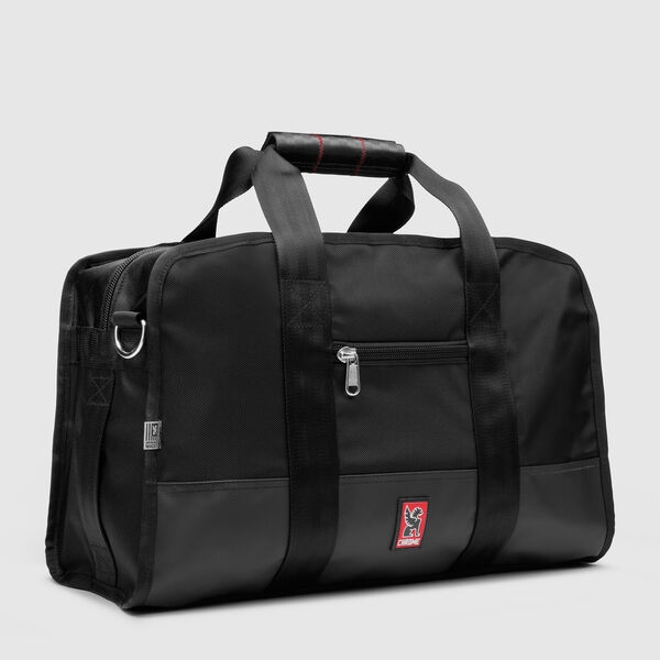 Small Duffle in Black - medium view.
