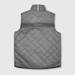 Warm Vest in Indigo / Wrench - small view.