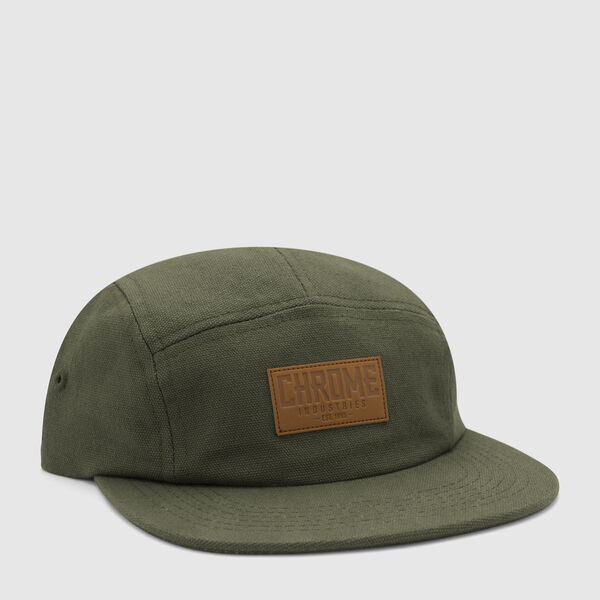 Canvas Five Panel Hat