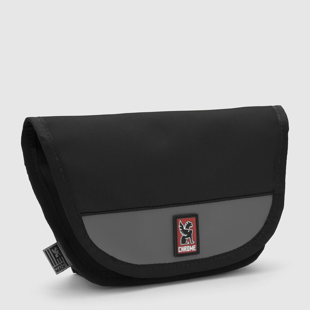 Hip Pouch in Black / Black - large view.