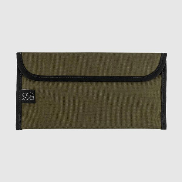 Large Utility Pouch in Military Olive - medium view.