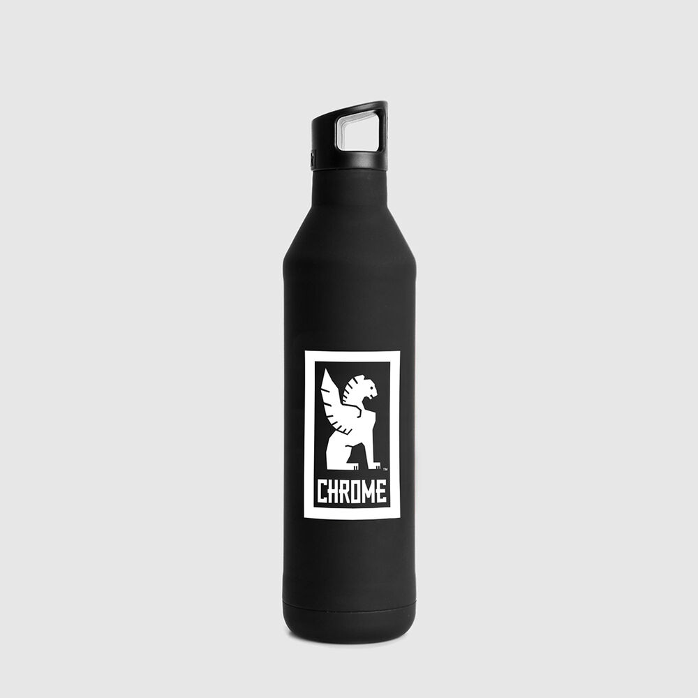Miir Insulated Bottle in Black - large view.
