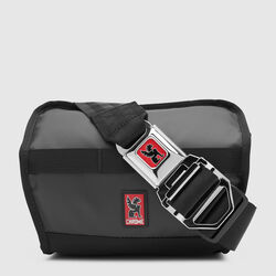 Niko Sling Messenger Bag in Black - small view.