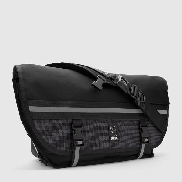 Citizen Messenger Bag in Night / Black - medium view.