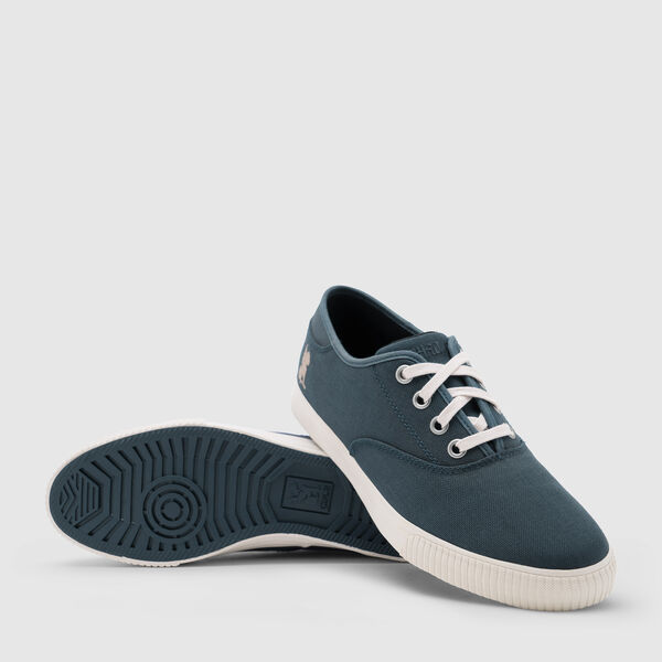 Truk Bike Shoe in Indigo/White - medium view.
