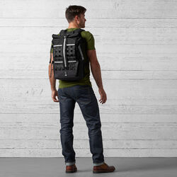 Night Barrage Cargo Backpack in Night / Black - wide-hi-res view.