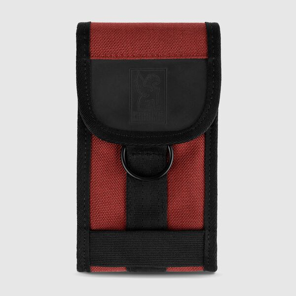 Phone Pouch in Brick / Black - medium view.