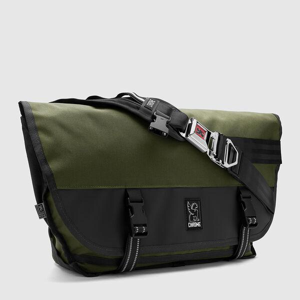 Citizen Messenger Bag in Ranger / Black - medium view.