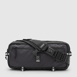 Night Kadet Nylon Messenger Bag in Night / Black - small view.