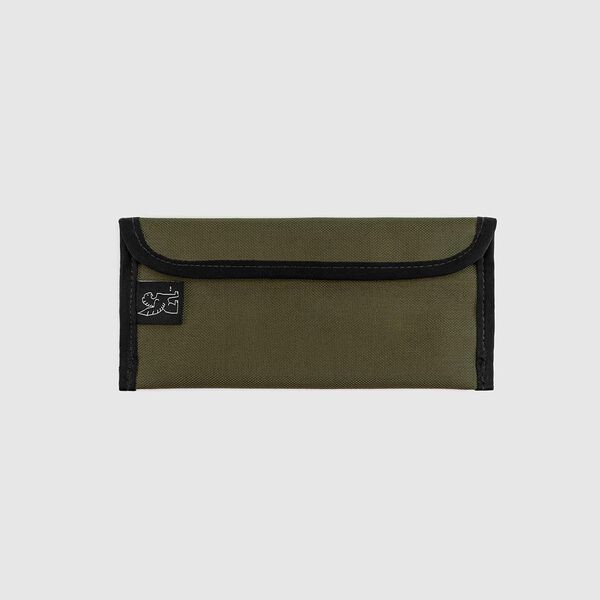Small Utility Pouch in Military Olive - medium view.