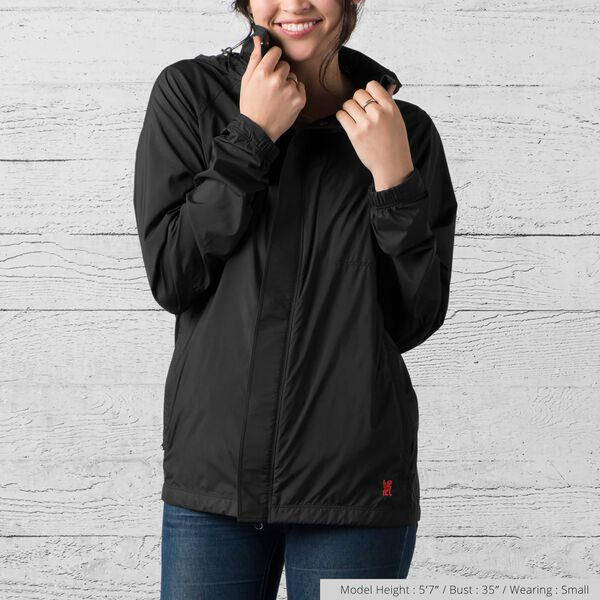 Packable Wind Cobra Jacket in Black - medium view.