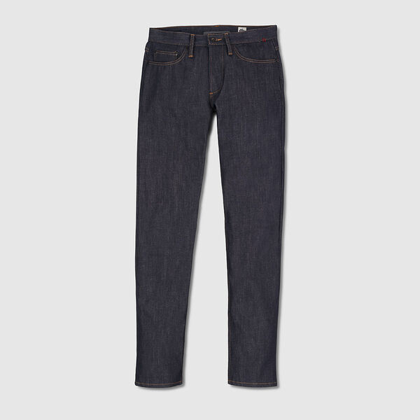 Wyatt Slim Denim Pant in Indigo Dyneema - medium view.