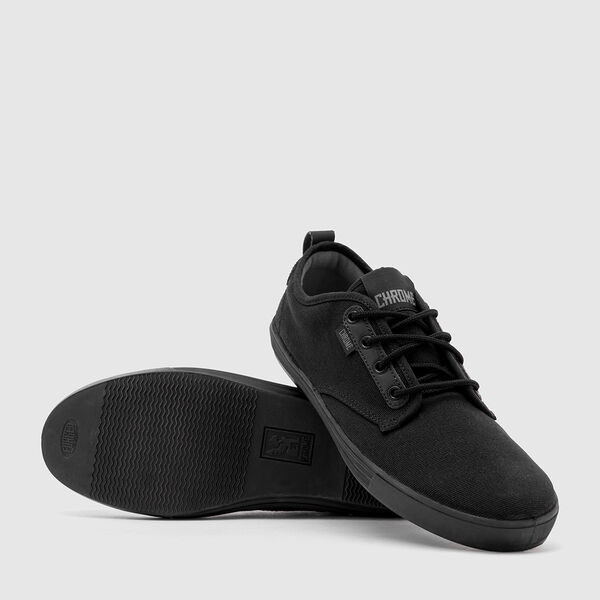 Ishak Sneaker in Black / Black - medium view.