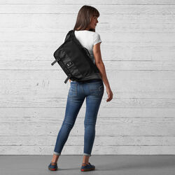 Mini Buran Messenger Bag - Final Sale in All Black - wide-hi-res view.