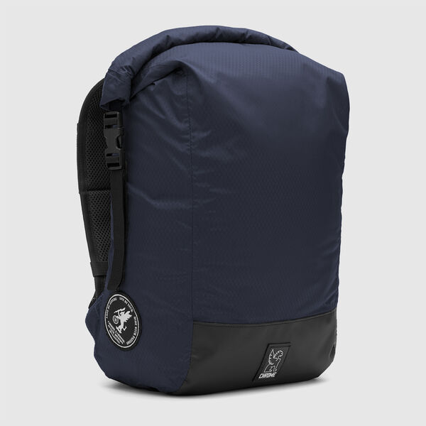 The Cardiel Orp Backpack in Navy / Black - medium view.