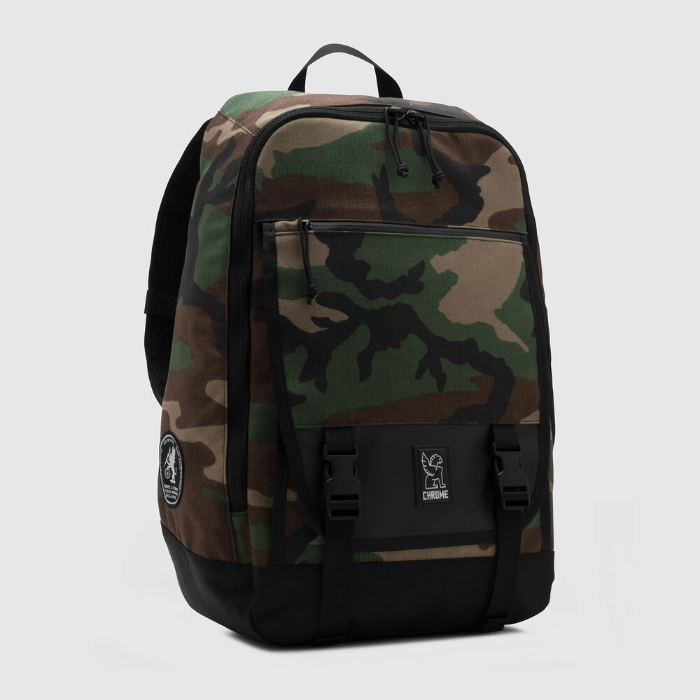 Cardiel Fortnight Backpack in Camo - large view.