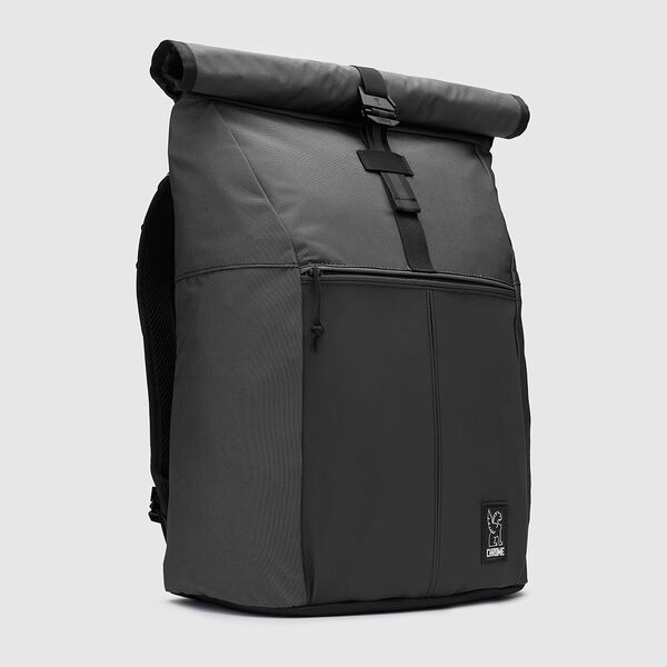 The Welterweight Yalta 2.0 Backpack in Charcoal / Black - medium view.