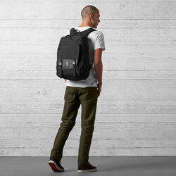 Cardiel Fortnight Backpack in Black - wide-hi-res view.