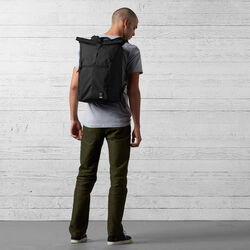 Yalta 2.0 Nylon Backpack in Black - wide-hi-res view.