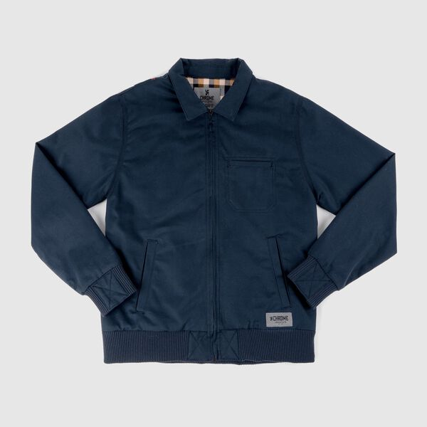 Golf Jacket in Indigo - medium view.