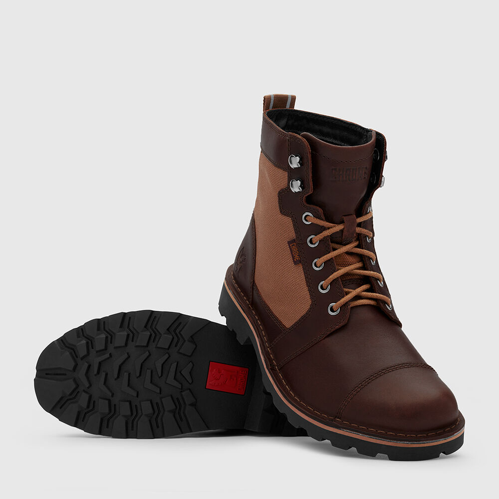 503 Combat Boot in Amber - large view.