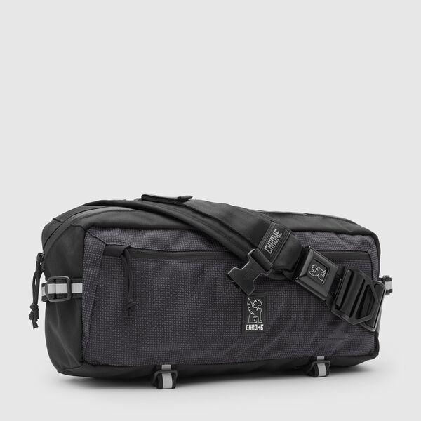 Kadet Nylon Messenger Bag in Night / Black - medium view.