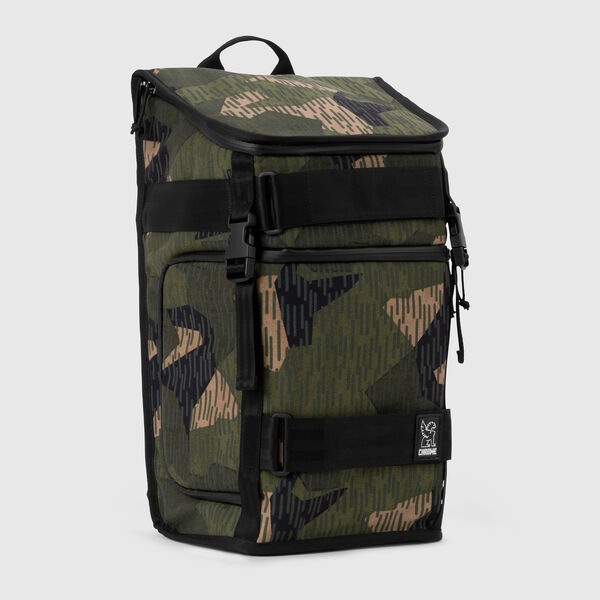 Niko Pack Backpack in Reflective Camo - medium view.