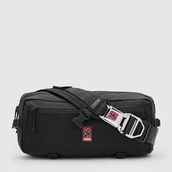 Kadet Nylon Messenger Bag in Black - small view.