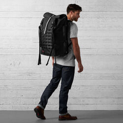 Barrage Pro Backpack in Black - wide-hi-res view.