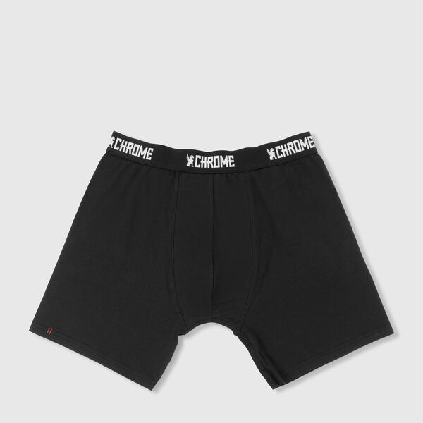 Knit Boxer in Black - medium view.