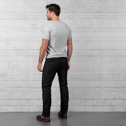 Fremont Five Pocket Pant in Black - wide-hi-res view.