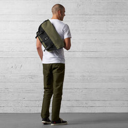 Mini Metro Messenger Bag in Ranger / Black - wide-hi-res view.
