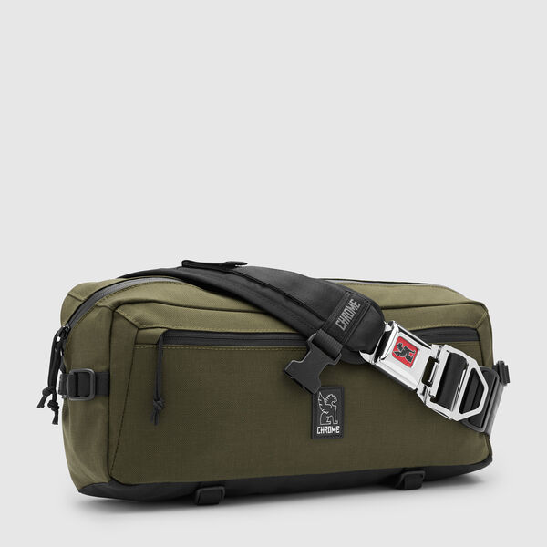 Kadet Nylon Messenger Bag in Ranger - medium view.