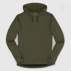 Merino Wool Cobra Hoodie in Rifle - small view.