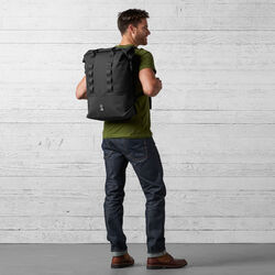 Excursion Rolltop 37 Backpack in Black - wide-hi-res view.