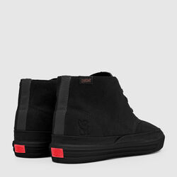 Suede Chukka in Black - small view.