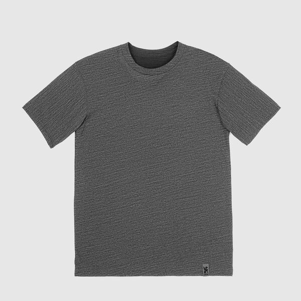 Delancey Merino Tee in Charcoal - medium view.