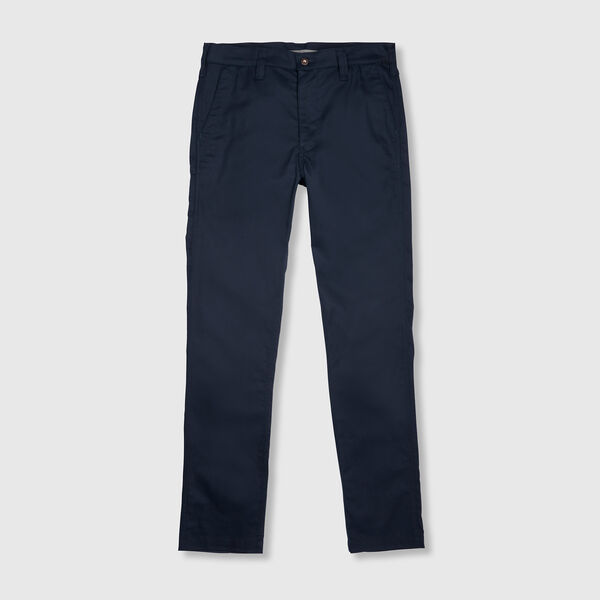 Rivington Chino Pant in Navy - medium view.