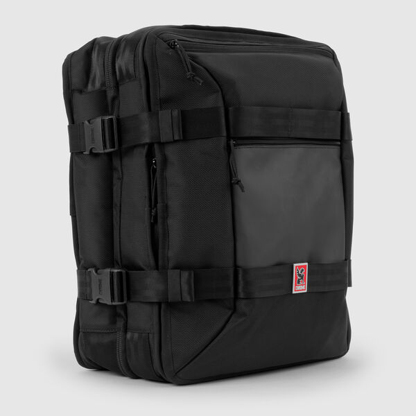 Macheto Travel Pack in Black - medium view.