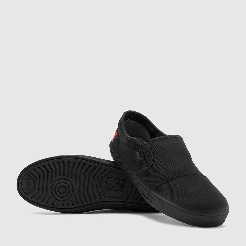 Dima Sneaker in Black / Black - large view.