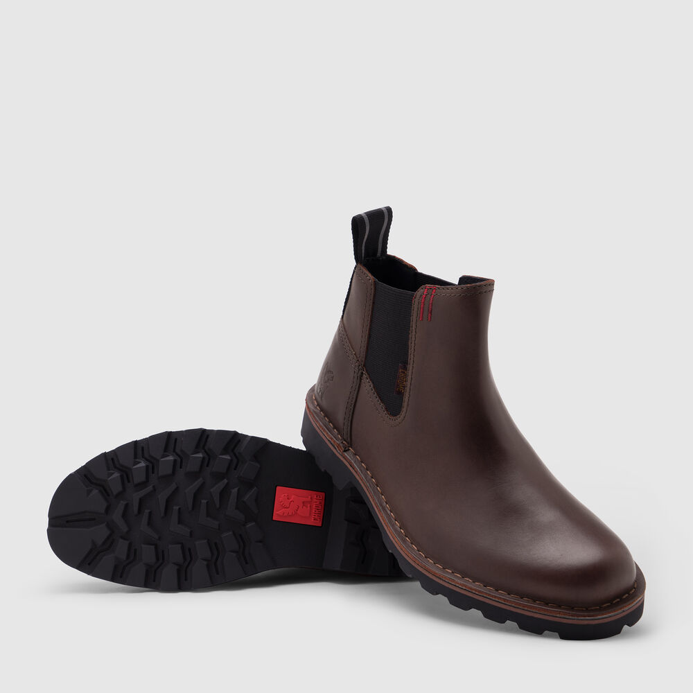212 Chelsea Boot in Amber - large view.