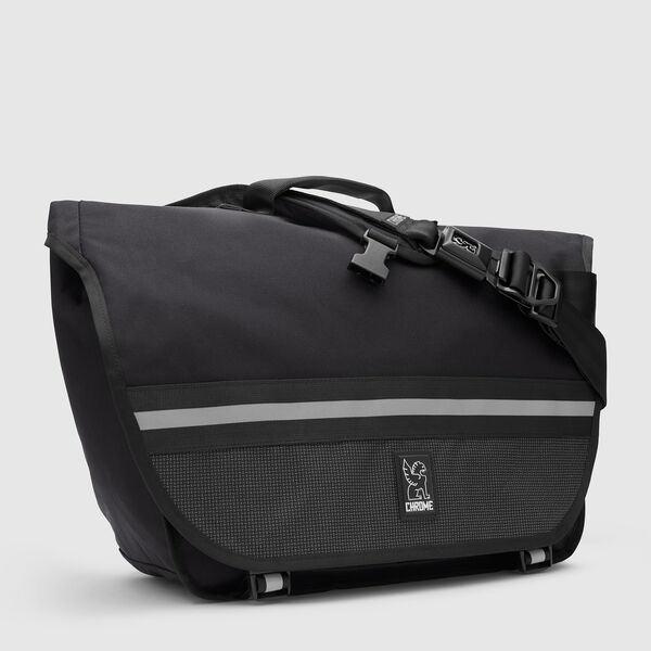 Buran II Messenger Bag in Night / Black - medium view.
