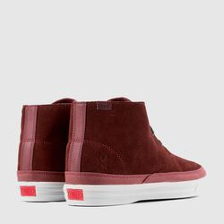 Suede Chukka in Brick / Off White - small view.